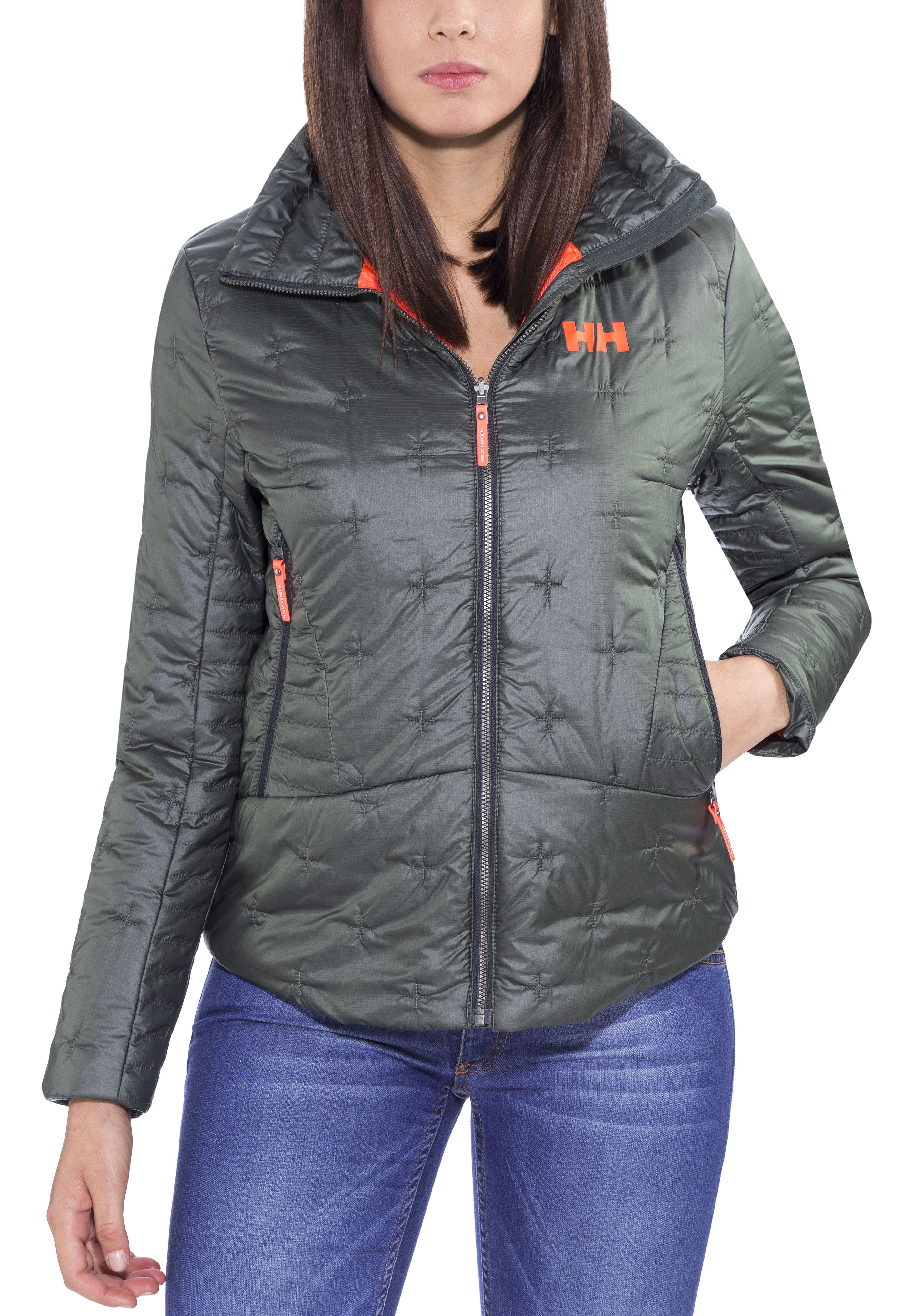 Helly Hansen Cross - Chaqueta Mujer - gris  cfd2534f8ac1